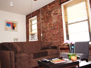 Queens apartment photo - Queen size comfortable sofabed