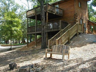 Branson cabin rental - Two Decks