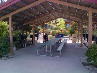 picnic area for large gatherings