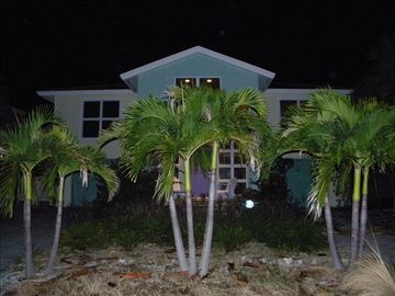 Anna Maria house rental - Streetview at nite