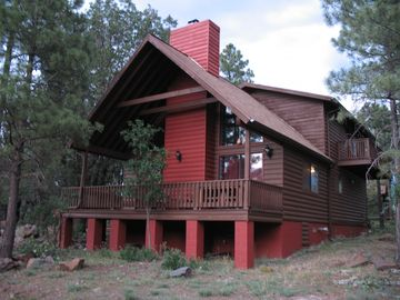 Pinetop cabin rental - Cabin Front View