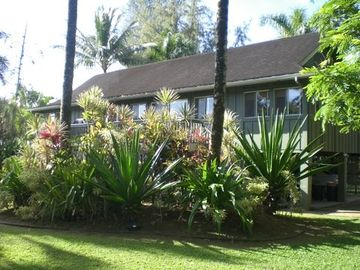 Anini Beach house rental - Front of home