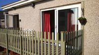 Self-catering dog freindly beachside bungalow, sleeps 2 3 (with sofa bed)