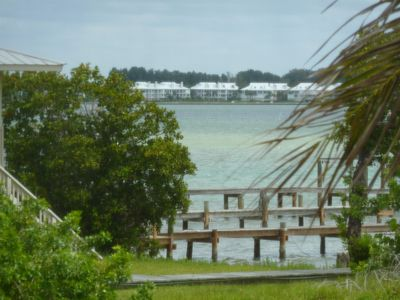 View of Intracoastal from Living Room and Porch area