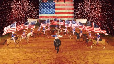 Dolly Parton's Dixie Stampede is an all-American extravaganza