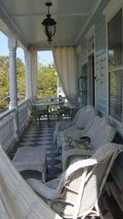 Charleston apartment photo - Porch for Dining, Lounging and Swinging: AptB