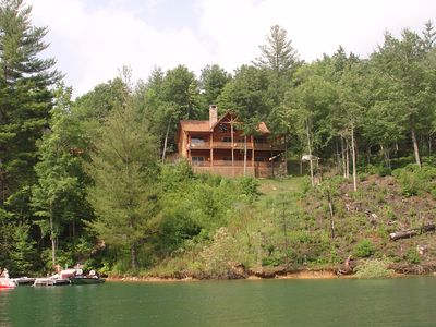 View from lake.