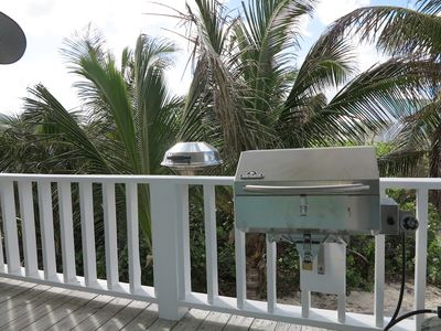 Both charcoal and gas grill are available.