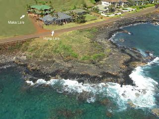 Poipu house photo - Maka La'e Aerial View (During Construction)