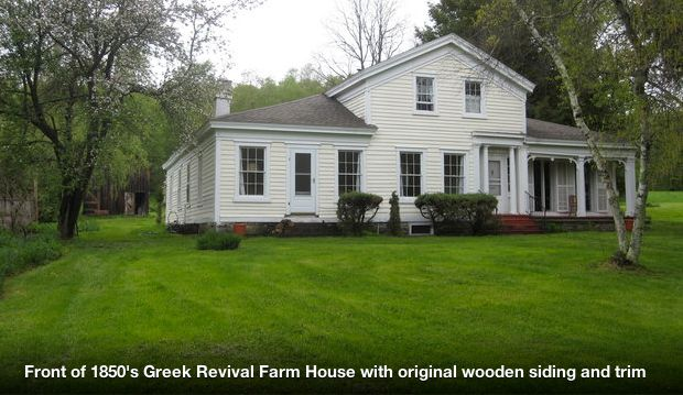 Historical 1850 Greek Revival Farmhouse Homeaway Andes