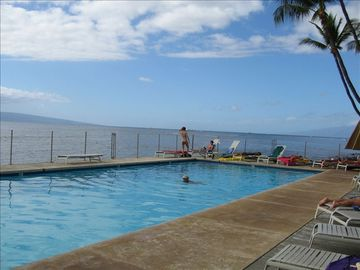 Ocean Pool - one of three pools at Puamana