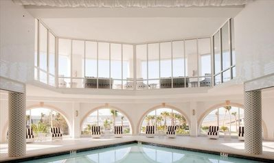Indoor Pool - heated pool for year-round swimming
