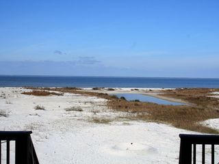Dauphin Island house photo - Mississippi Sound from the deck (water side),