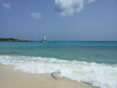 Cupecoy condo rental - Maho Beach! 10 minutes walking distance from our Unit