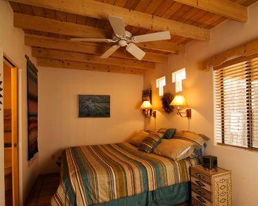 Taos cottage rental - You'll sleep like a baby.