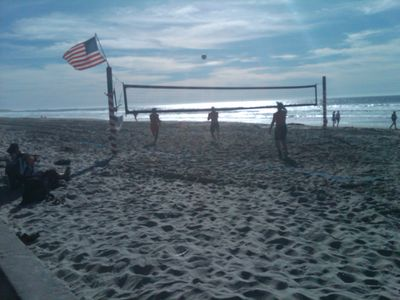 Beach volleyball, anyone?