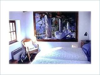 Gordes house photo - Third Bedroom with twin beds.