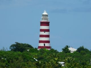 Elbow Cay and Hope Town house photo - Lighthouse view from the deck