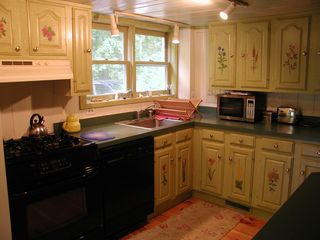 Kezar Lake cottage photo - Kitchen View #1