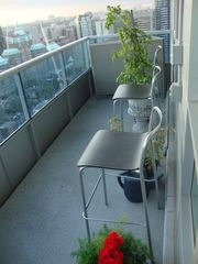 Toronto condo photo - 100 SQFT South West Balcony Facing Downtown & Western subs