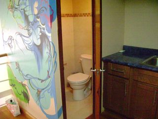 Half bathroom on 2nd level - San Juan apartment vacation rental photo