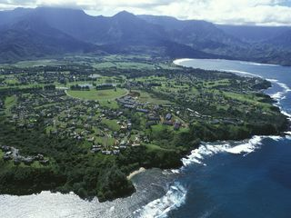 Princeville house photo - Aerial View of the Beautiful Princeville Resort