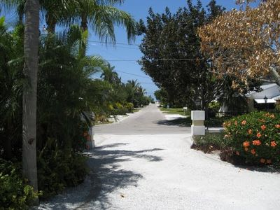 Our entrance is only a couple blocks (end of photo) to Gulf of Mexico Beaches!