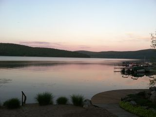 Cooperstown cabin photo - No two sunsets are ever the same...each better than the previous!