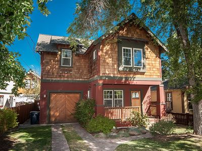 Really a great new home - two blocks from core downtown - who needs the car!!
