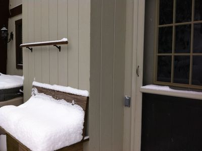 Sugar Mountain chalet rental - Back Door