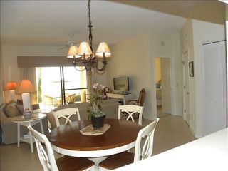 Amelia Island condo photo - Dining Room & Living.