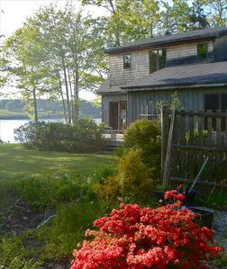 New Harbor cottage rental - The Sandpiper Cottage on the Maine Coast