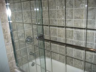 Lake Wallenpaupack house photo - Guest bathroom--brand new:)