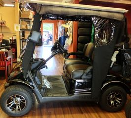 The Villages house photo - 2013 Golf cart in showroom
