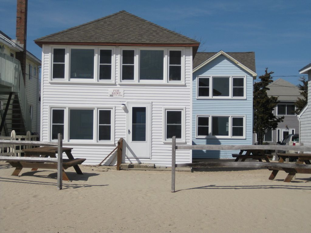 Ocean Front Cottage On Private Old Colony Vrbo