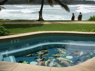 Kahuku - Turtle Bay condo photo - spa at the waters edge