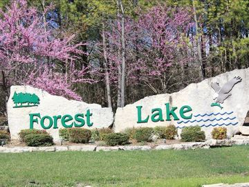 Forest Lake is a well stocked catch and release lake.