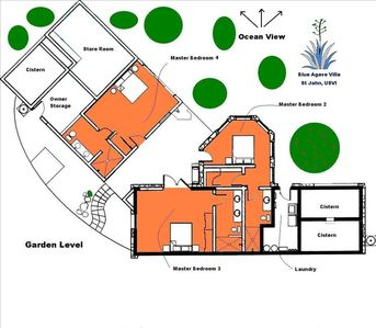 Garden Level Floor Plan