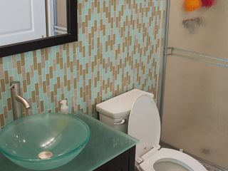 Redington Shores condo photo - Master bath with walk-in shower.
