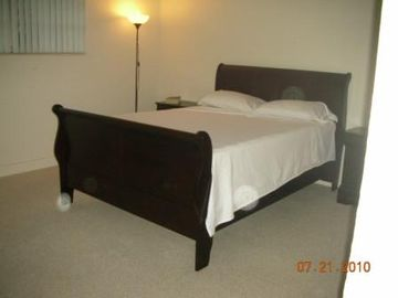 New and comfortable queen bed on master en-suite bedroom