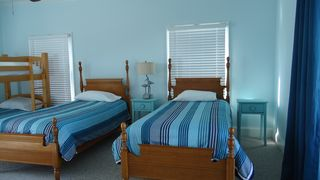 St George Island house photo - Twin bedroom sleeps four