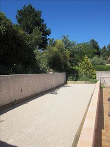 Authentic Petanque Court...enjoy a Pastis and a game like the real Provencals!