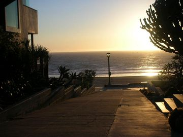 Walkstreet view - just steps to the beach & the sunsets are spectacular!