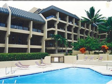 Kailua Kona condo rental - View of Condo from Pool