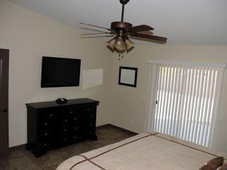 Lake Havasu City house photo - Master Bedroom with 42 - inch TV