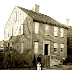7 New Mill Street, historic photo circa 1880