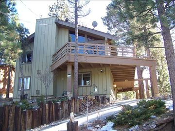 Peter Pan cabin rental - Custom cabin with unique architecture, lovely views, and a quiet secluded feel