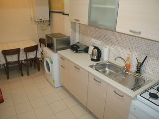 Istanbul house photo - Kitchen and natural gas combi boiler