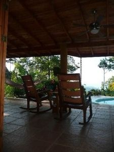 Uvita house rental - Terrace view