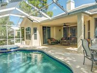 Lovely Sarasota area Country Club home with pool and spa.